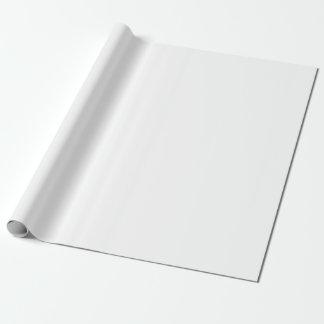 Papel De Presente Branco