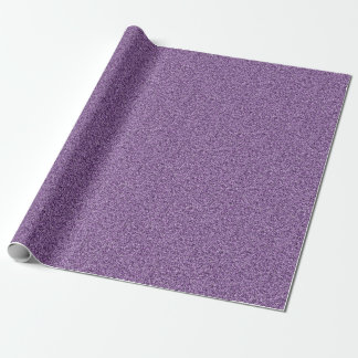 Papel De Presente Brilho roxo Amethyst do falso