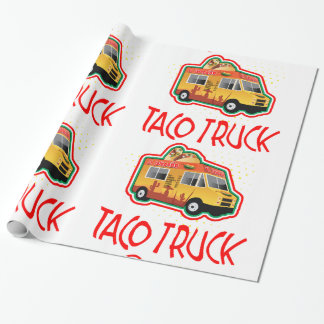 Papel De Presente Caminhão do Taco