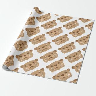 Papel De Presente cara da lontra
