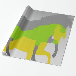 Papel De Presente cavalos