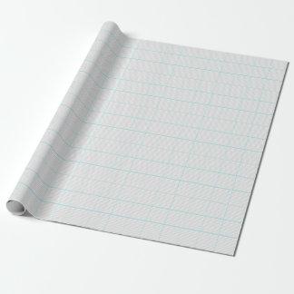 Papel De Presente Chá de fraldas cinzento & branco do teste padrão