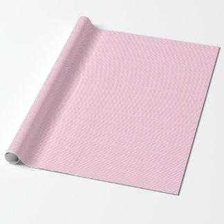 Papel De Presente Chá de fraldas cor-de-rosa & branco do teste