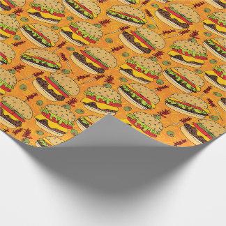 Papel De Presente Cheeseburger de luxe