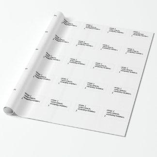 Papel De Presente Classe do CSS do codificador de Ninja