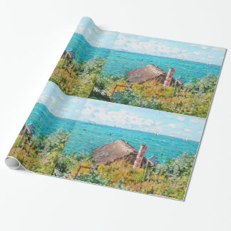 Papel De Presente Claude Monet a cabine em belas artes do