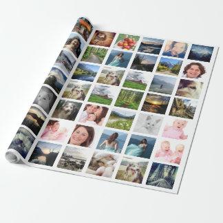 Papel De Presente Colagem da foto de Instagram com 56 imagens