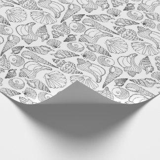 Papel De Presente Colora seus próprios Seashells