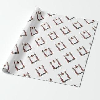 Papel De Presente Colunas maçónicas