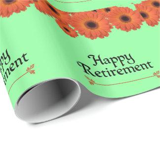 Papel De Presente Comemore a aposentadoria