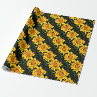 Papel De Presente Confiança no senhor Brilhante Amarelo Flor