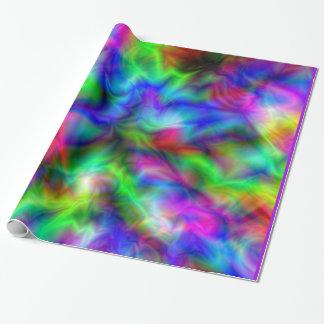 Papel De Presente Cores abstratas do arco-íris