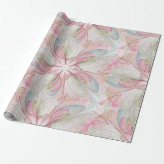Papel De Presente Cortina de chá Pastel cor-de-rosa do banheiro do