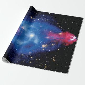 Papel De Presente Cygnus uma foto do espaço do montagem do raio X da