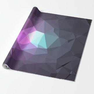 Papel De Presente Design abstrato & colorido do teste padrão - flor