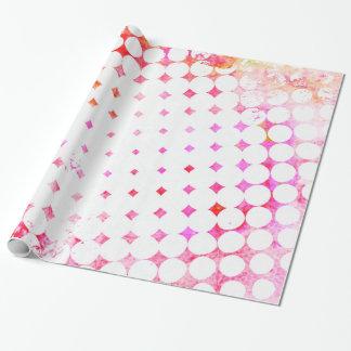 Papel De Presente Design de explosão cor-de-rosa da banda desenhada