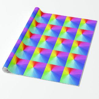 Papel De Presente Design do espectro do arco-íris