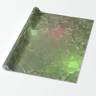 Papel De Presente Design geométrico abstrato de LoveGeo - alga brava