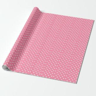 Papel De Presente Dia dos namorados cor-de-rosa do papel de