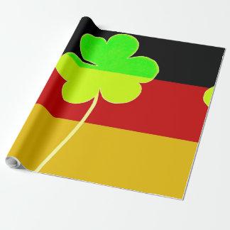 Papel De Presente Divertimento alemão irlandês de St Patrick do