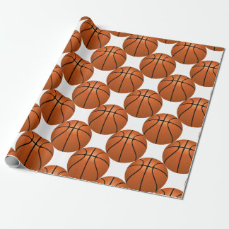 Papel De Presente Divertimento do basquetebol