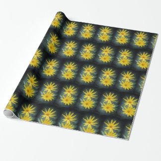Papel De Presente Duas flores amarelas do tupinambo