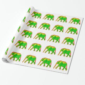 Papel De Presente Elefante africano pequeno