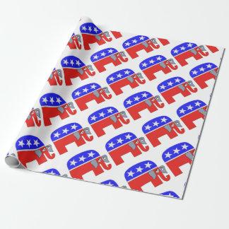 Papel De Presente Elefante do GOP