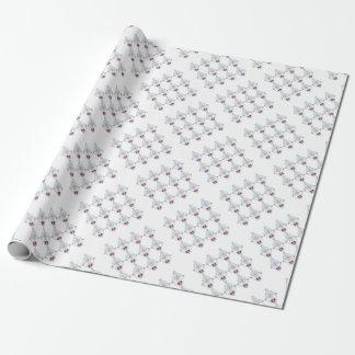 Papel De Presente Elementos do design no branco