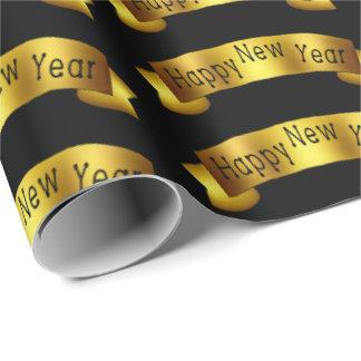 Papel De Presente Envoltório do partido da fita do feliz ano novo do