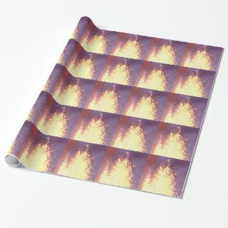 Papel De Presente explosão do fogo