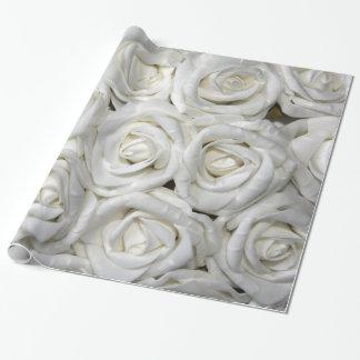 Papel De Presente Floral elegante abstrato do jardim de rosas