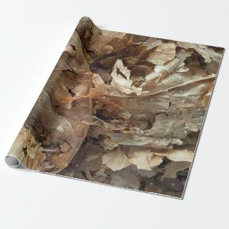 Papel De Presente Folhas secadas do tabaco