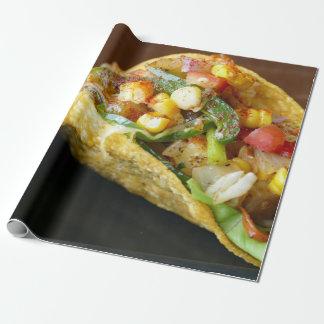 Papel De Presente fotografia mexicana deliciosa do Tacos