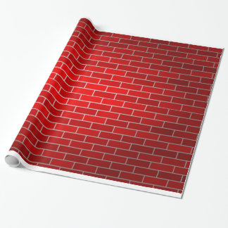 Papel De Presente Fundo do tijolo vermelho