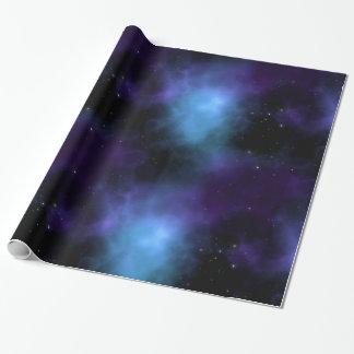 Papel De Presente Galáxia da nebulosa do espaço