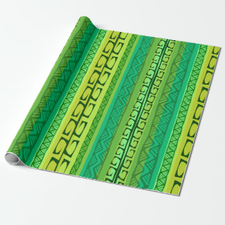Papel De Presente Ganchos do Nipa - verde