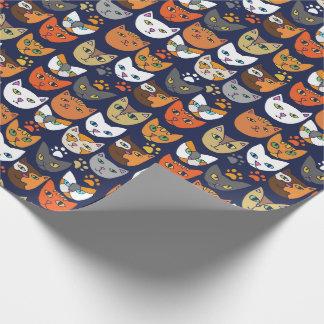 Papel De Presente Gatos Caturday diário do gatinho