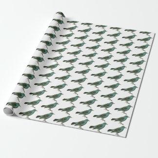 Papel De Presente Giftwrap:  Bluebirds da felicidade