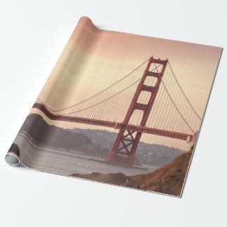 Papel De Presente Golden Gate icónico San Francisco Califórnia da