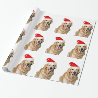 Papel De Presente Golden retriever