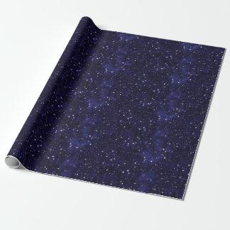 Papel De Presente Grade estrelado do céu nocturno