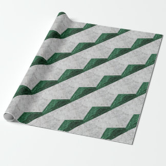 Papel De Presente Granito concreto #412 do verde da seta