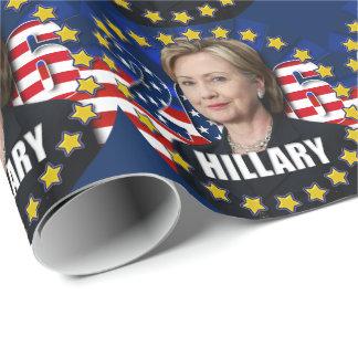 Papel De Presente Hillary Clinton para o papel 2016 do presidente