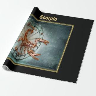 Papel De Presente Horóscopo do design da astrologia do zodíaco da