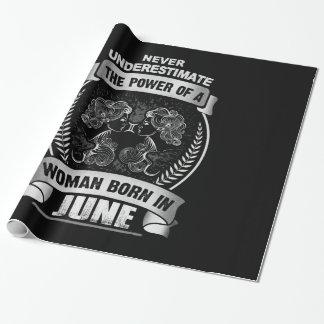 Papel De Presente Horóscopo junho