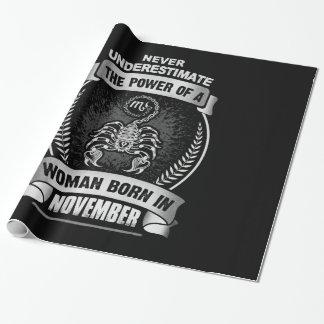 Papel De Presente Horóscopo novembro