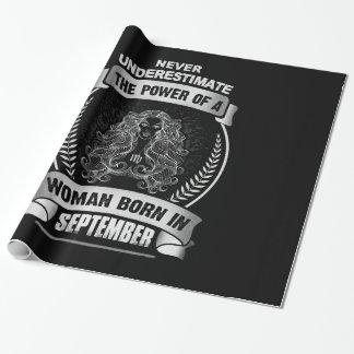 Papel De Presente Horóscopo setembro