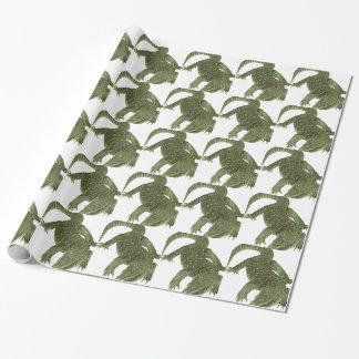 Papel De Presente Iguana Sneaky de Galápagos