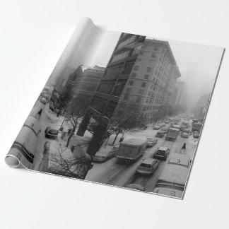 Papel De Presente Inverno NYC